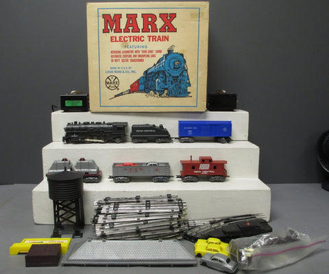 Marx O Postwar Penn Central Electric Train Set/Box