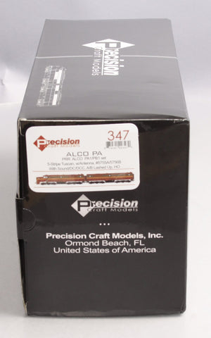 Precision Craft Models 347 HO PA/PB PRR #5755A,5756B