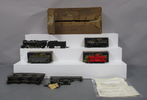 American Flyer 4607A Pennsylvania Freight Train: 312AC, 632, 625, 630/Box