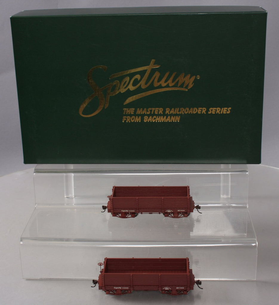 Bachmann Spectrum 26531 On30 Data Only 18' Wood Low-Side Gondola (Set of 2)