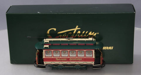 Bachmann 25127 On30 Christmas Traction-Powered Closed Streetcar
