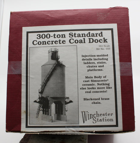 Winchester Station 103 HO 300-Ton Standard Concrete Coal Dock Kit