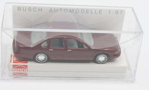 Busch 47600 HO 95 Chevrolet Caprice Red  Vehicle