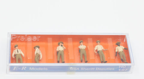 E-R Models 1010061 HO USA Sheriff Deputies Figures (Pack of 6)