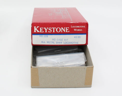 Keystone Locomotive 105 20T HO Shay Locomotive Kit
