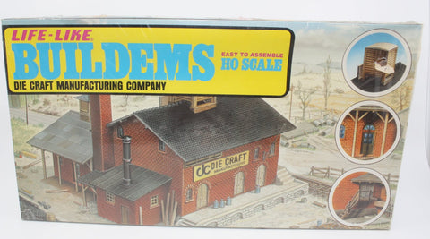 Life Like S-388 HO Die Craft Manufacturing Company Building Kit