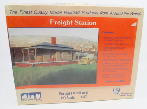 IHC 3510 HO Freight Station Kit