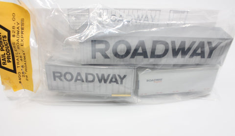 Rail Power 400 HO Roadway Trailers (Set of 3)