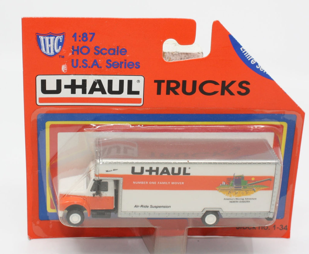IHC 1-34 HO North Dakota U-Haul 26' Moving Truck