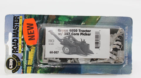 GHQ 60-007 HOGreen 4020 Trackor with 327 Corn Picker
