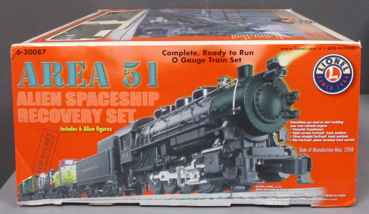 Lionel 6-30087 Area 51 Alien Train Set – Trainz