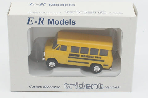 E-R Models 040-90801 HO Yellow School Bus