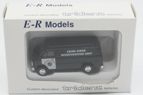 E-R Models 040-90451 HO Black HP Crine Scene Unit
