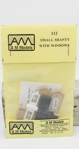 AM Models 112 HO Small Shanty With Windows