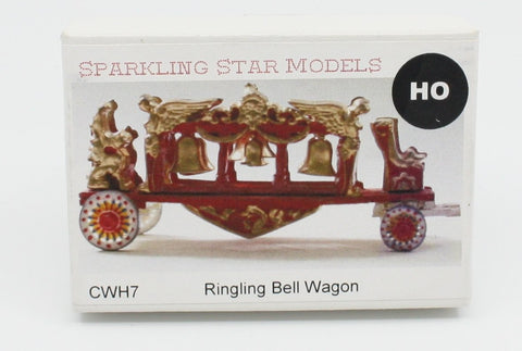 Sparkling Star Models CWH7 HO Ringing Bell Wagon