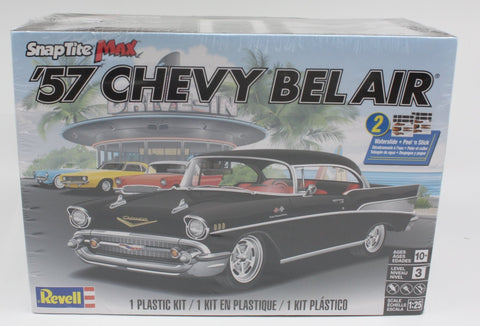 Revell 85-1529 HO Snaptite Max '57 Chevy Bel Air