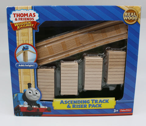 Fisher Price Y4500 Thomas & Friends™ Wooden Railway Ascending Track & Riser Pack