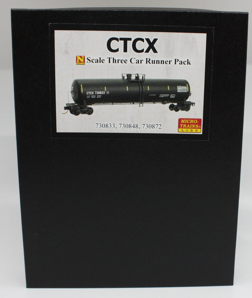 MicroTrains CTCX 3 Car Runner Pack 730833/730848/730872