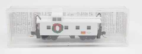 MicroTrains MTL2000 36' Riveted Steel Side Caboose Offset Cupola MTL Holiday Car