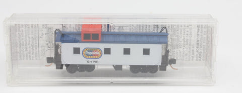 MicroTrains 901 36' Riveted Stlle Caboose Offset Coupole Popsicle