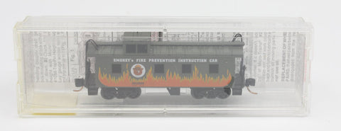 MicroTrains X62000 '36 Riveted Steel Caboose Offest Supola Smokey Bear