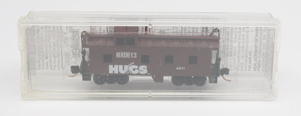 MicroTrains 100120 36' Riveted Steel Side Caboose Offset Cupola Hershey