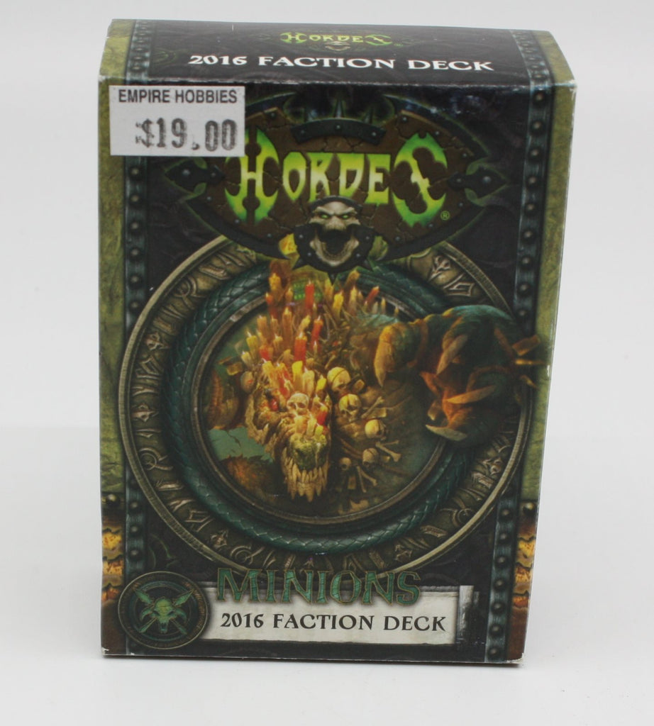 Privateer Press 91114 Minions 2016 Fraction Deck