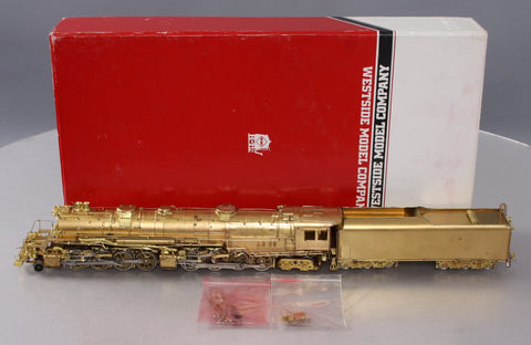 Westside HO Scale Brass Baltimore & Ohio EM-1 2-8-8-4 Steam Locomotive/Box