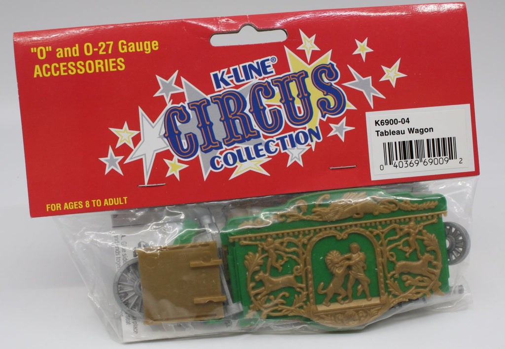K-Line K6900-04 Circus Collection Tableau Wagon Kit