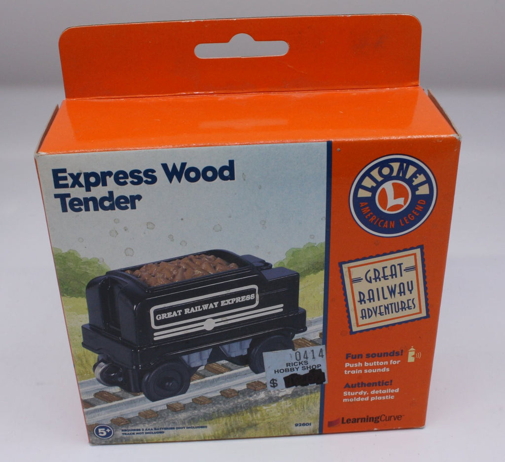 Learning Curve 92601 Express Wood Tender
