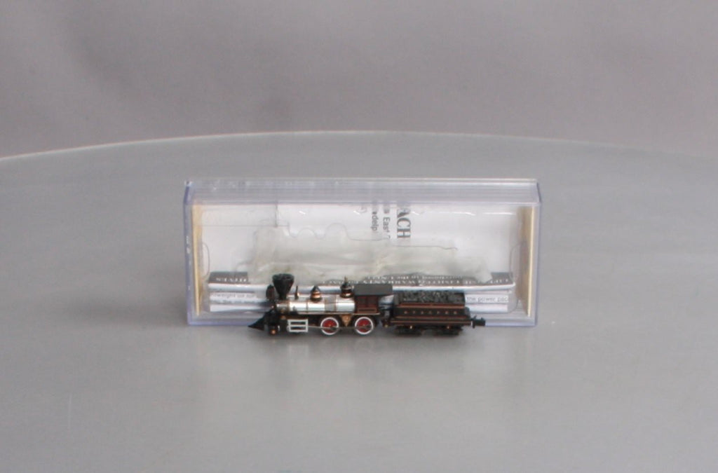 Bachmann 51152 N Santa Fe 4-4-0 American Steam Locomotive & Tender #91