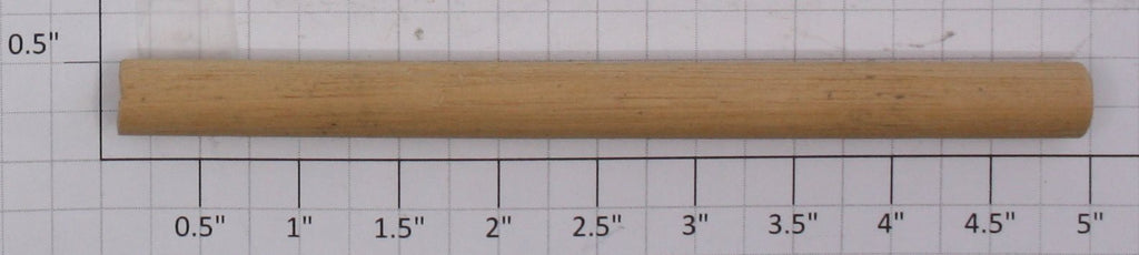 "Lionel 164-64XX1 3/8"" x 4-3/4"" Small Unstained Wood Log (3)"