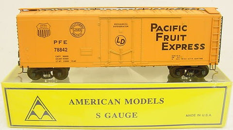 American Models 202 S Scale Pacific Fruit Express Reefer Car