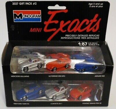 Monogram 2037 Mini Exacts Gift Pack #2 HO Vehicles (Pair of 6)
