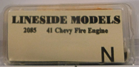 Lineside Models 2085 N 1941 Chevy Fire Engine
