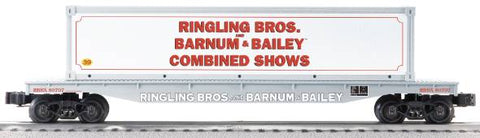 Lionel 6-21469 Ringling Bros Flatcar w/Container