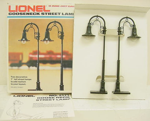 Lionel 6-2171 Goose Neck Street Lamps