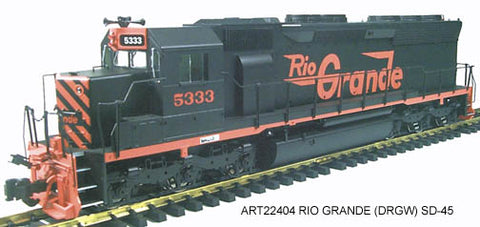 Aristo-Craft 22404 Denver & Rio Grande SD-45 Diesel Locomotive