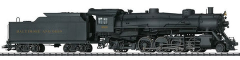 Trix 22816 HO B&O Railroad Class Q-3 w/ DCC Sound USA Light Mikado Steam Loco