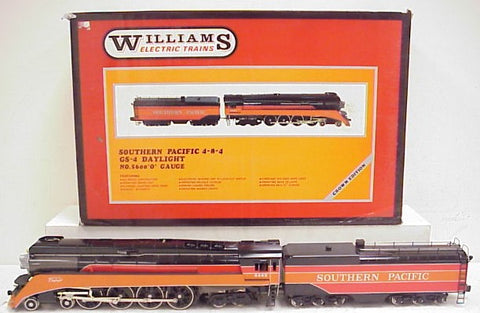 Williams 5600 BRASS Southern Pacific 4-8-4 GS-4 Daylight Steam Locomotive