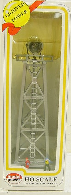 Model Power 631 HO Scale Searchlight Tower