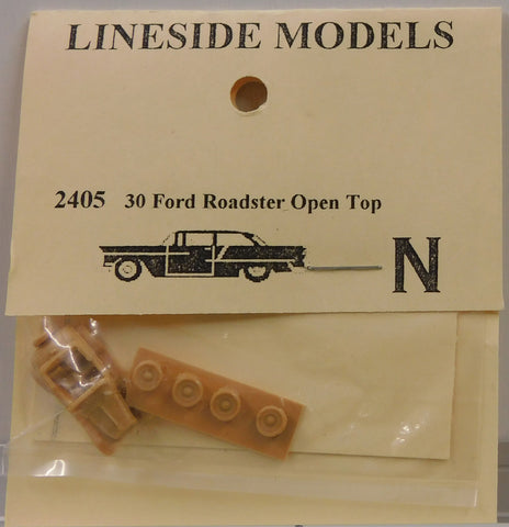 Lineside Models 2405 N 1930 Ford Roadster Open Top