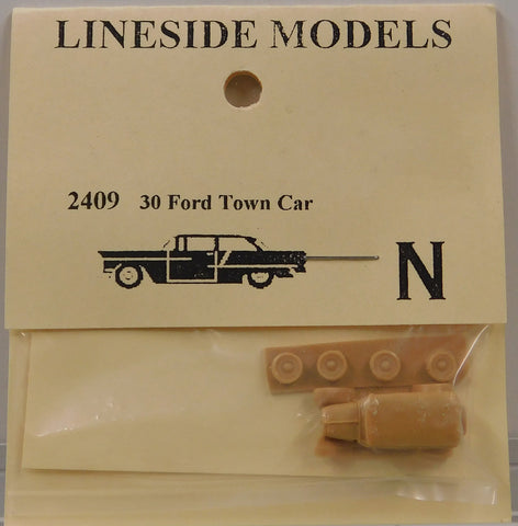 Lineside Models 2409 N 1930 Ford Town Car