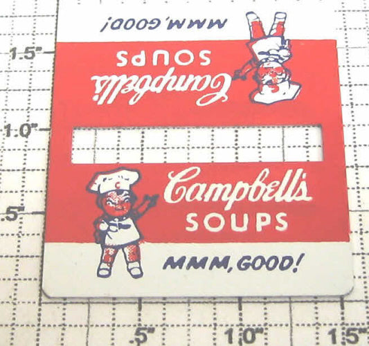 Lionel 256-Camp Campbells Soup Metal Sign