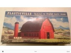Plasticville 2602-100 HO Barn Building Kit