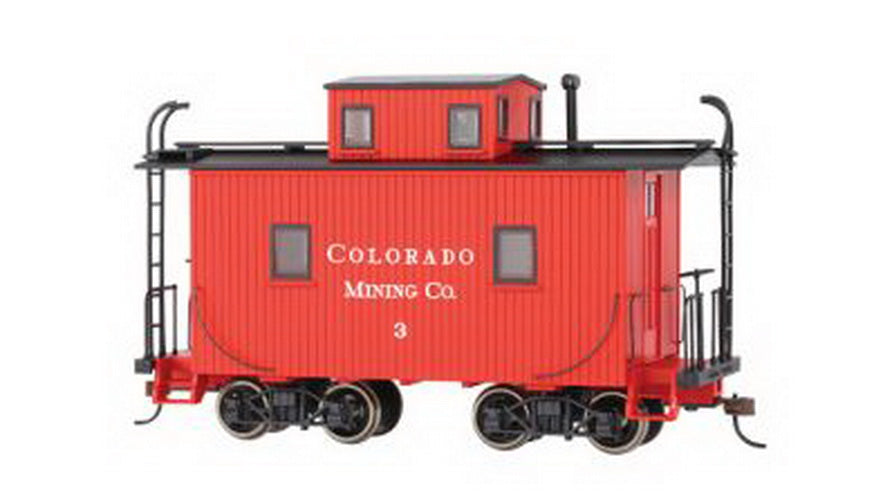 Bachmann 27762 On30 Colorado Mining Co. Caboose w/Lighted Interiors #3