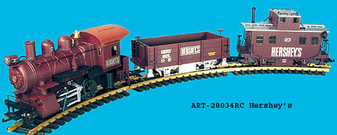 Aristo-Craft 28034RC Hershey's 0-4-0 Freight Set