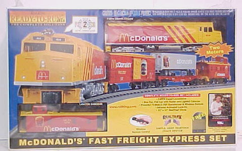 MTH 30-4042-1 McDonald's Train Set w/PS2 NIB