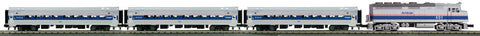 MTH 30-4246-1 O Amtrak F40PH Diesel R-T-R Passenger Train Set