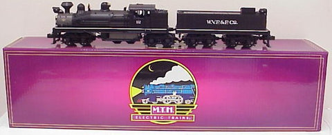 MTH 20-3023-1 West Virginia Pulp & Paper 4-Truck Shay Steam Loco & Tender w/PS1.